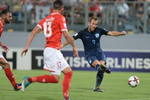 Harry Kane overcomes August woes to help England beat Malta 4-0