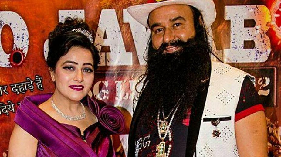 Ram Rahim and Honeypreet