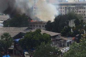 Fire at RK Studios, 'Super Dancer' set burnt