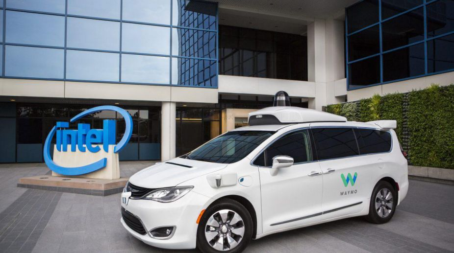 Intel partners with Google's Alphabet unit Waymo on self-driving car technology