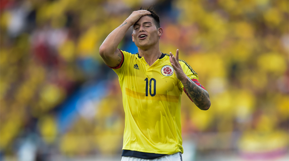 d703dca2d12 2018 FIFA World Cup, FIFA World Cup, Colombia National Team, James Rodriguez