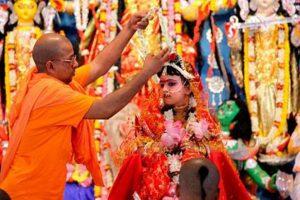 Thousands witness Kumari Puja in Belur as Durga puja fervour climaxes