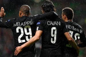 Champions League: 'MCN' lead five-star PSG past hapless Celtic