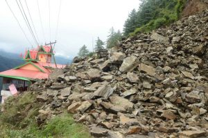 Two labourers buried in landslide in Samba; rescued