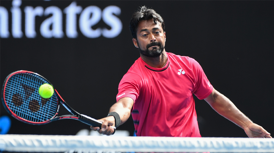Indian tennis player Leander Paes (Photo: AFP)