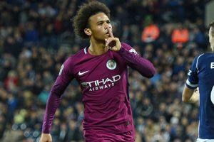 Carabao Cup: Leroy Sane brace guides Manchester City past West Bromwich Albion