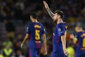 Coach Valverde praises Messi after Barcelona win