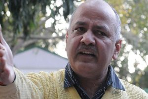 Speaker, Sisodia, AAP MLAs wear black bands against LG order