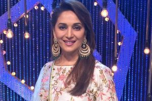 Madhuri Dixit goes traditional for Marathi debut 'Bucket List'