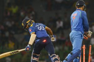 Dhoni completes world record of 100 stumpings in ODIs