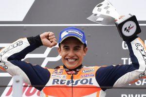 Marc Marquez celebrates 4th season win at San Marino GP