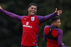 Eric Dies issues warning to England team-mate Marcus Rashford