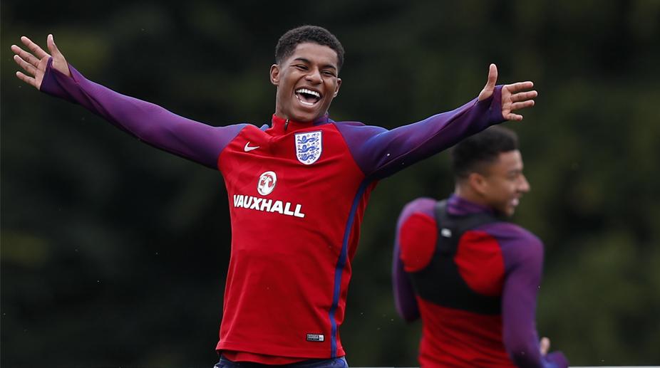 eadcd2b55df Eric Dies issues warning to England team-mate Marcus Rashford - The ...