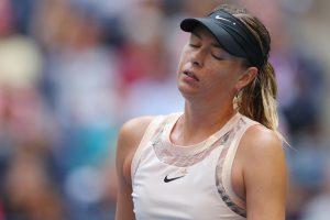 US Open 2017: Maria Sharapova knocked out