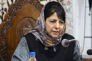 Distressed by death of civilians in Shopian crossfire: Mehbooba