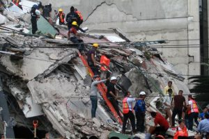 Mexico unveils website to channel help to quake victims