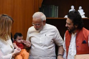 Modi welcomes Adnan Sami's daughter Medina