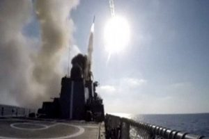Russia fires 7 cruise missiles at IS in Syria