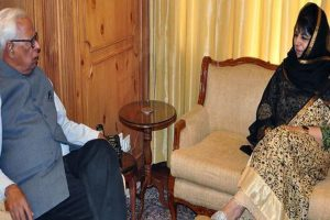 J-K: Mufti meets Governor, discusses security situation