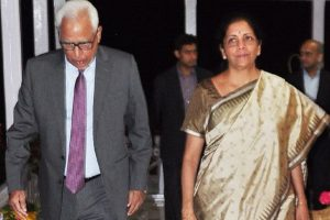 Sitharaman discusses Kashmir situation with Vohra