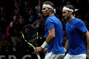 Power couple Nadal, Federer rule out full-time partnership