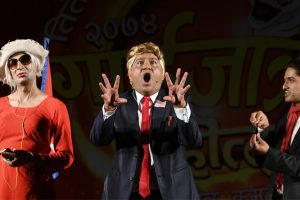 This Nepali comedian is taking on Donald Trump