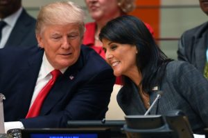 "Trump's Jerusalem decision is ""historic"": Haley"