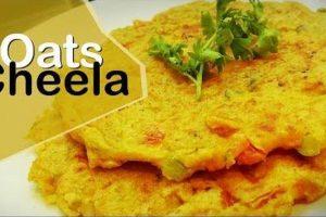 Weekend recipe: Healthy Oats Chilla
