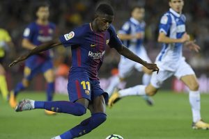 Barcelona lower Ousmane Dembele recovery time after operation