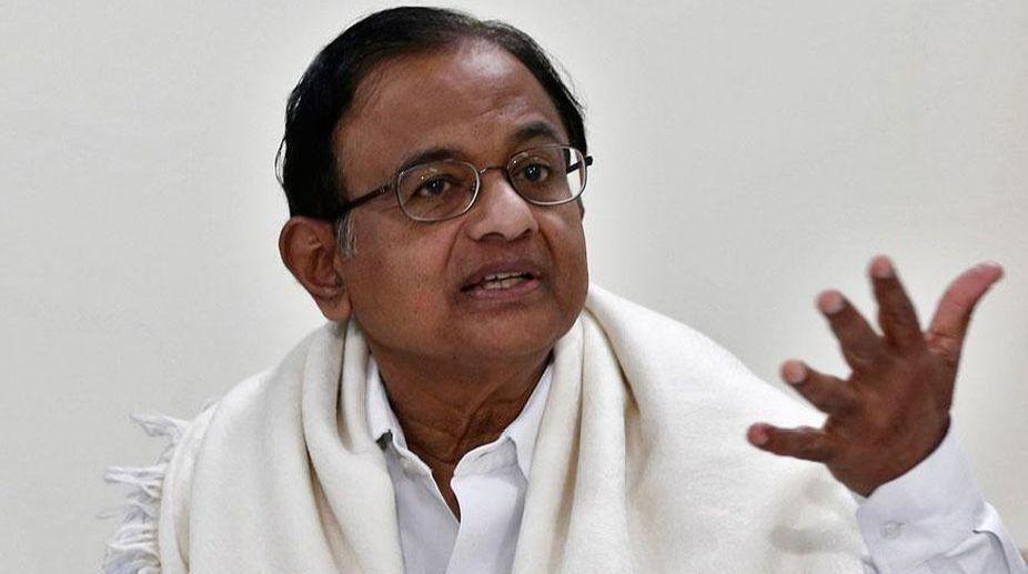 P Chidambaram, Congress