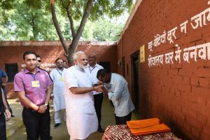 Village that gave 'shelter' to Humayun plays host to PM Modi