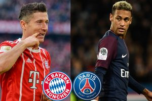 Paris Saint-Germain vs Bayern Munich: Neymar leads combined XI