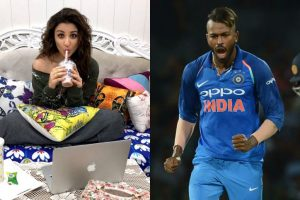 For Parineeti 'love is in the air'; for Pandya, it's anger!