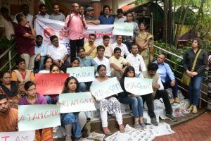 Hundreds protest Gauri Lankesh murder in Bengaluru