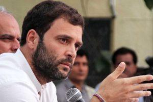 Rahul cites Yashwant Sinha's article to slam Modi government