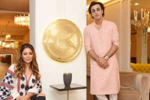 Ranbir Kapoor visits 'Gauri Khan Designs'