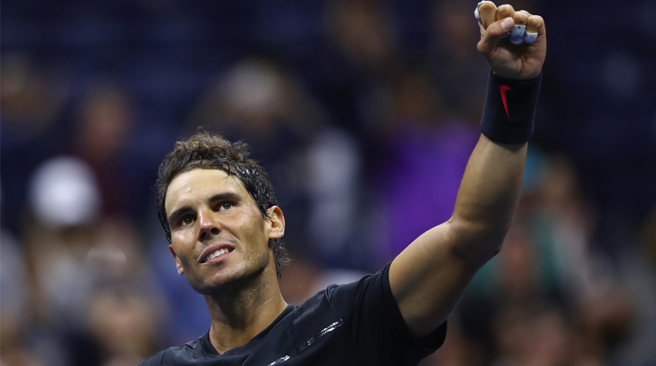 Us Open 2017 Rafael Nadal Battles Through Women S Draw Takes Hit The Statesman