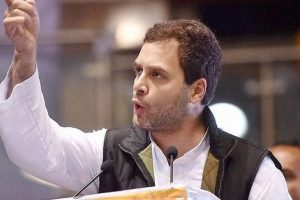 Fight between truth and lies in Gujarat, Congress represents truth: Rahul