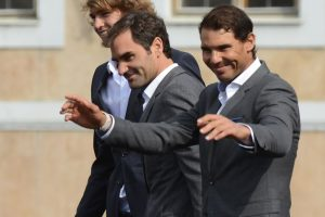 Roger Federer, Rafael Nadal relish teaming up at Laver Cup
