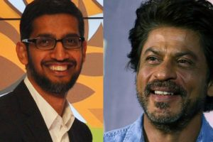Sundar Pichai is one of SRK's 'favouritest' people in world
