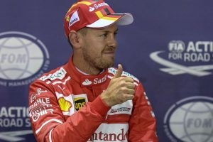Sebastian Vettel vrooms to fourth pole in Formula 1 Singapore Grand Prix