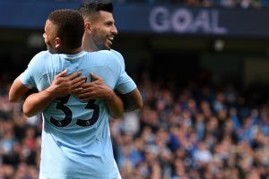 Premier League: Sergio Aguero scripts history as Manchester City crush Liverpool