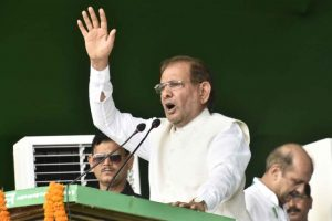 Mahagathbandhan to observe Nov 8 as 'Black Day' in Bihar: Sharad Yadav