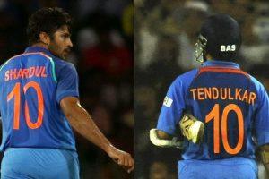 When Shardul Thakur 'replaced' Sachin Tendulkar!