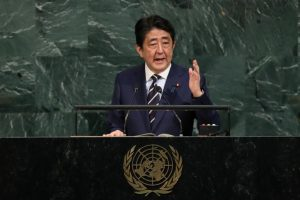 Japanese PM sends offering to Yasukuni Shrine