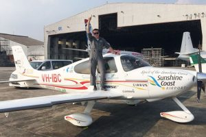 18-yr-old pilot sets Guinness record of solo trip around the world