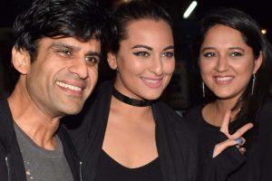 Juno Chopra attends 'Judwaa 2' screening with Sonakshi Sinha