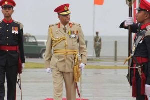Hasty departure of an ex-General