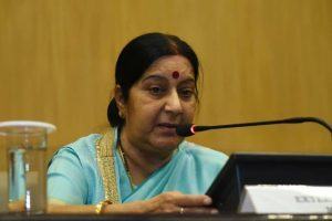 Threats endangering South Asia's peace on rise: Swaraj