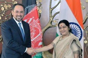 Partnership with Afghanistan article of faith for India: Sushma